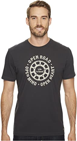 Life is Good - Open Road Mind Heart Crusher Tee