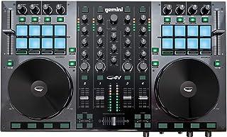Gemini G4V - Controladores DJ (2.0, USB B, 3.5 mm, USB, 5V, 1.1A) Negro
