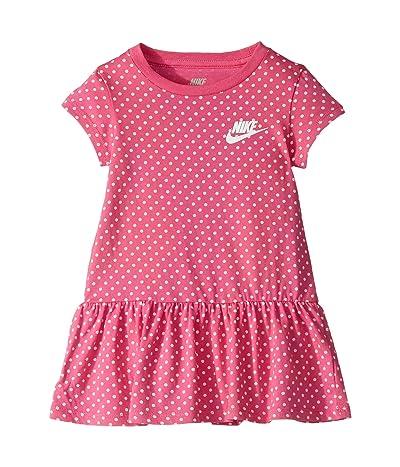 Nike Kids Dot Print Dress (Toddler) (Laser Fuchsia) Girl