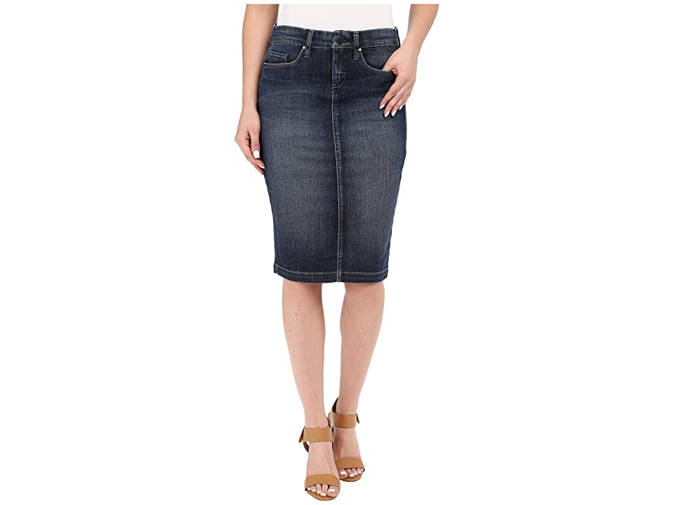 Blank NYC Denim Pencil Skirt in Denim Blue (Denim Blue) Women