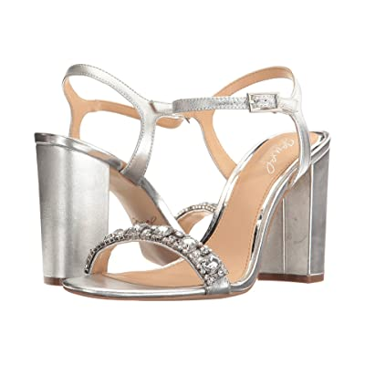 Jewel Badgley Mischka Hendricks (Silver) Women
