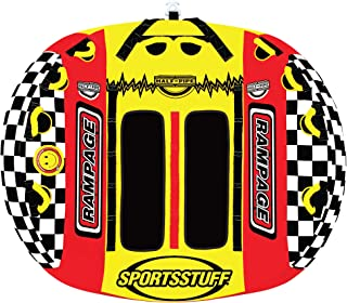 Sportsstuff Half Pipe Rampage | 1-2 Rider Towable Tube for Boating