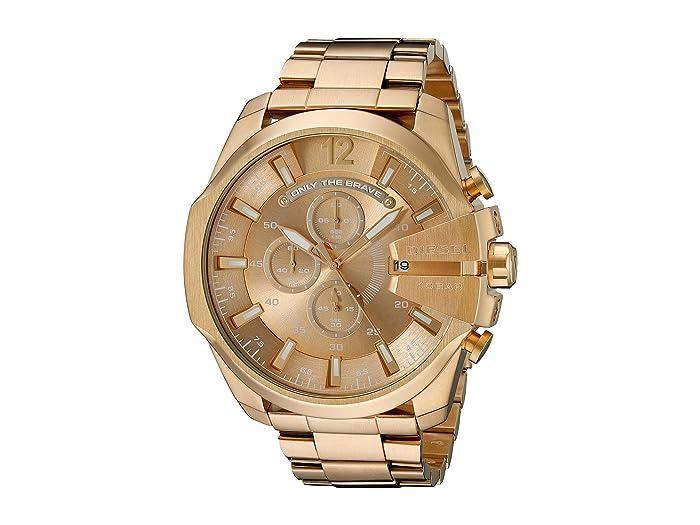 Diesel  Mega Chief - DZ4360 (Gold) Watches