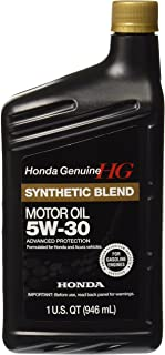 Genuine Honda 08798-9034 Synthetic Blend Oil 5W-30