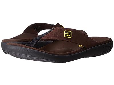 Spenco Pure Sandal (Chocolate) Men