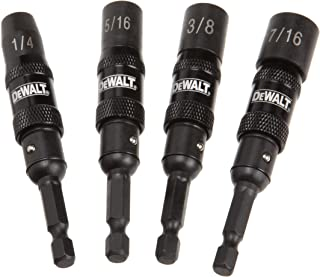 DEWALT DWPVTDRV 4-Piece IMpact Ready Magnetic Nut Driver Set