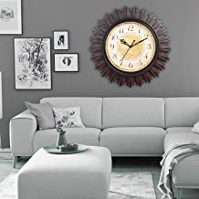 EFINITO Wall Clock Designer for Home/Living Room/Bedroom/Office/Kids Room -(18 INCH, Silent Movement)
