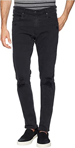 Tellis Modern Slim Leg Denim in 3 Years Black Ash