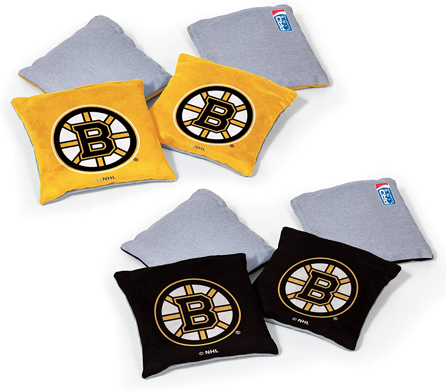 NHL Pro Ice Chicago Mall Hockey Dual Sided Bean Bags Sports Wild by Count 8 Safety and trust