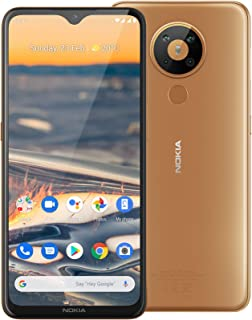 """Nokia 5.3 Android One Smartphone (Official Australian Version 2020) Unlocked Mobile Phone with Quad Camera, Large 6.55"""" Sc..."""