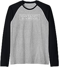 Masculinity Is A Prison Raglan Baseball Tee