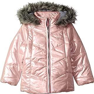 Big Girls' Metallic Puffer Jacket