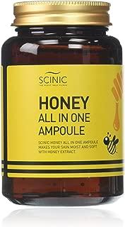 Best scinic honey aio ampoule Reviews