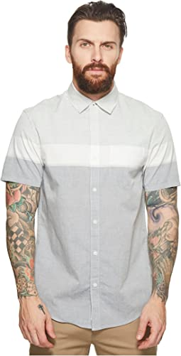Original Penguin - Short Sleeve Color Block Woven