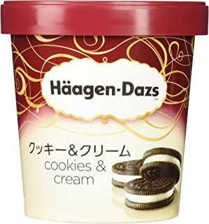 [冷凍] ハーゲンダッツ パイント クッキー&クリーム 473ml