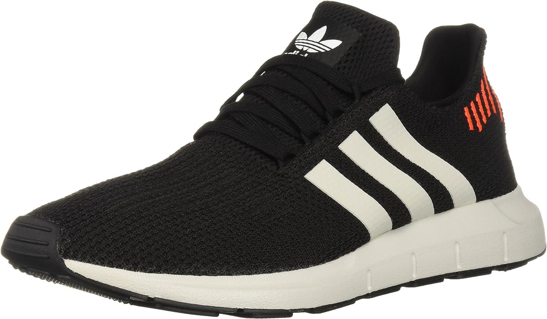 Adidas Originals Men's Swift Running schuhe, schwarz Weiß grau, 10 M US