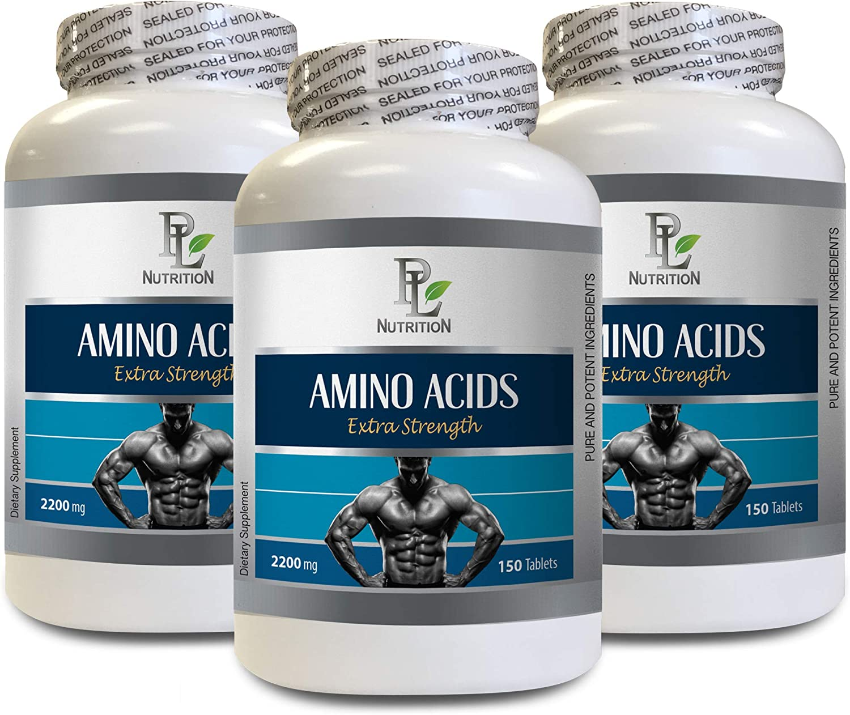 Sacramento Miami Mall Mall Muscle Strength Pills - Amino Extra l- ACIDS 2200mg