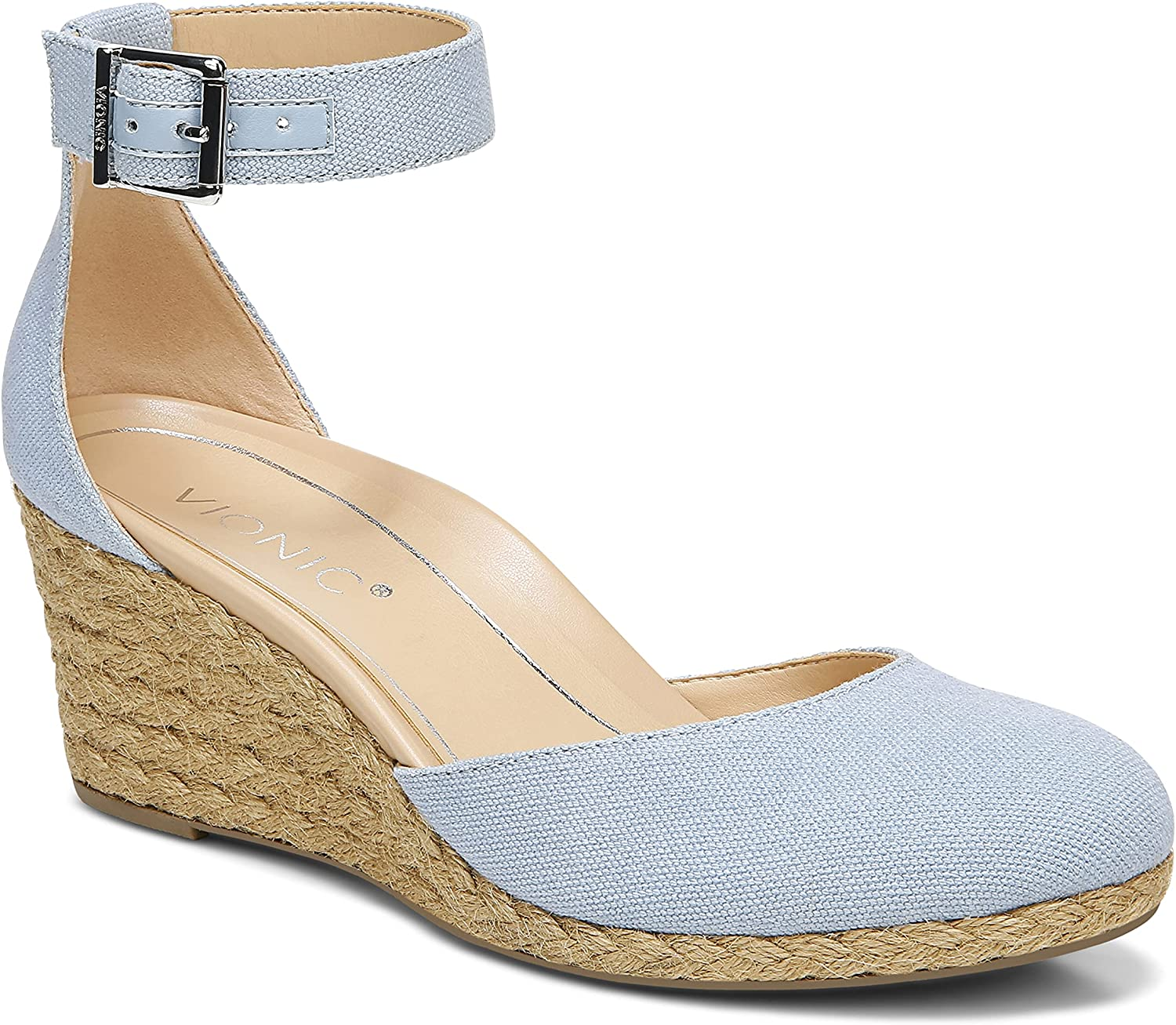 Vionic Women's Aruba Recommended Amy Espadrille Wedge We Ladies - Toe Closed 55% OFF