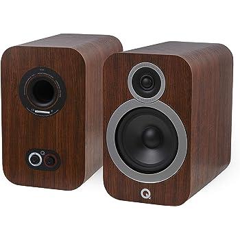 Q Acoustics 3030i Bookshelf Speaker Pair (English Walnut)