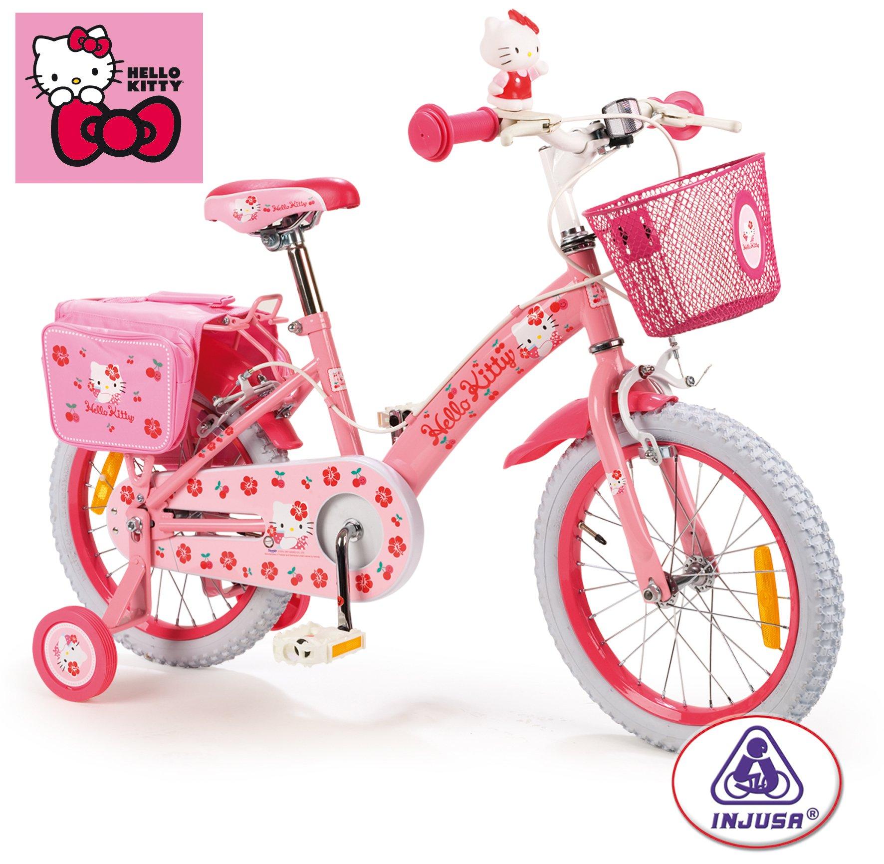 INJUSA 609001 - Bicicleta Hello Kitty 3/6 Años: Amazon.es ...
