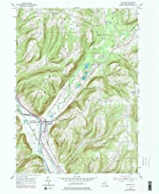 YellowMaps Savona NY topo map, 1:24000 Scale, 7.5 X 7.5 Minute, Historical, 1953, Updated 1978, 27 x 22.1 in