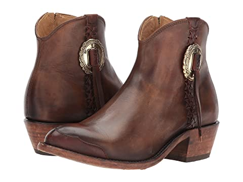 Isabel Suedeolive Lucchese Cuir Leatherbutterscotch Selle Antique qZEXO7wx
