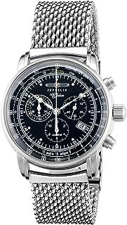 [ツェッペリン]ZEPPELIN 腕時計 100周年モデル ブラック文字盤 7680-M2 メンズ 【並行輸入品】