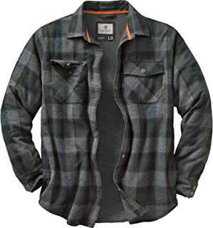 Legendary Whitetails Men's Archer Thermal Lined Flannel Shirt Jacket