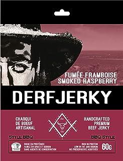 Derf Jerky Smoked Raspberry Premium Handcrafted BBQ Style Beef Jerky 60g