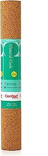 "Con-Tact Brand Natural Cork Self-Adhesive Shelf Liner, 18"" x 4`"