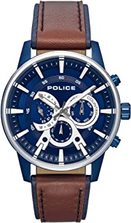Police avondale Mens Analog Quartz Watch with Leather bracelet R1451306002