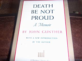 Death Be Not Proud (The Modern Library, 286.1)