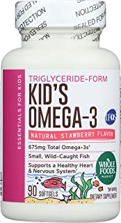 Whole Foods Market, Kids Omega 3 675 Mg, 90 Softgels