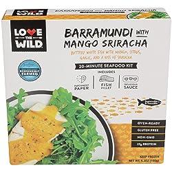 Love the Wild, Barramundi with Mango Sriracha, 5.3 oz (Frozen)
