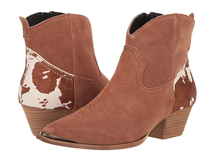 Dingo  Buck The Rules (Tan Suede) Womens Pull-on Boots