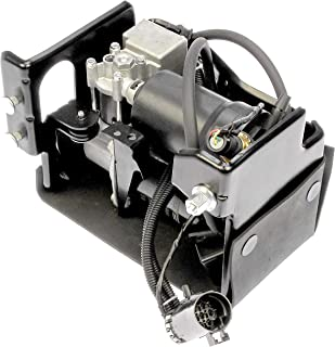 APDTY 050111 Air Ride Suspension Compressor w/Dryer & Steel Housing (Complete Plug-n-Play Assembly For Active Air Suspension Systems Replaces GM Part #: 15254590)