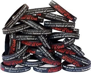 50 Armor of God Wristband Bracelets Ephesians 6:10-18
