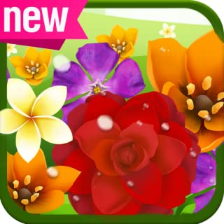 Flower Power Game - Blossom Flowers Mania Match 3 Puzzle Free Games