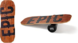 Epic Dark Oak Balance Board - Balance Trainer - Epic Balanceboards