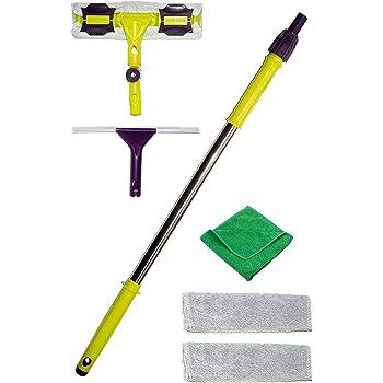 12x car micro fibre microfibre cleaning cloths squeegee blade wash wax polish