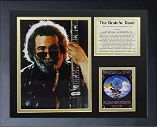 Legends Never Die Jerry Garcia Framed Photo Collage, 11 by 14-Inch