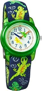 ساعة انالوج للاولاد بسوار قماشي مرن من تايمكس