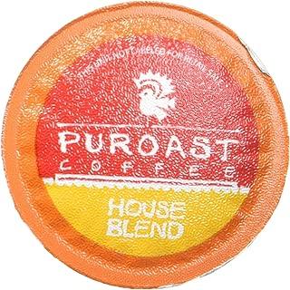Puroast Low Acid Coffee House Blend Single Serve, 2.0 Keurig Compatible 12 servings