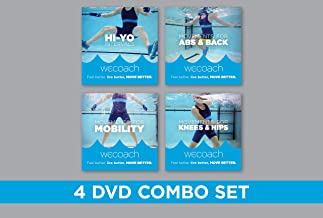 WECOACH 4 Water Exercise DVD Combo Set