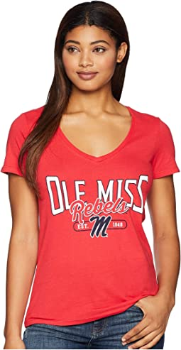 Ole Miss Rebels University V-Neck Tee
