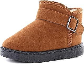 KKIDSS Snow Boots for Girls Boys Winter Warm Cute Boots Kids Outdoor Shoes (Toddler/Little Kid)