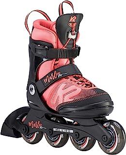 اسکیت های K2 Skate Youth Marlee Pro Inline Skates ، سیاه / مرجان