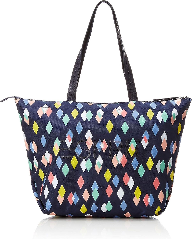 Esprit Accessoires 019ea1o022, Women's Shoulder Bag, bluee (Navy 3), 18x31x32 cm (B x H T)