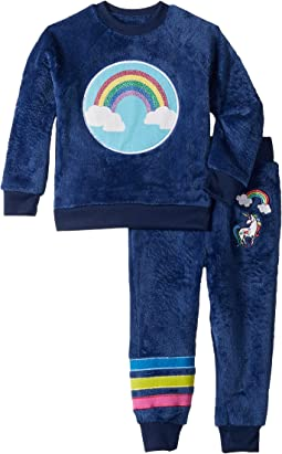 Reversible Sequins Velour Set (Toddler/Little Kids)