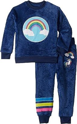 Reversible Sequins Velour Set (Toddler/Little Kids)